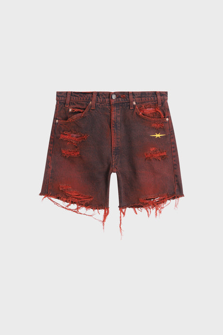 Distressed cut-off Shorts