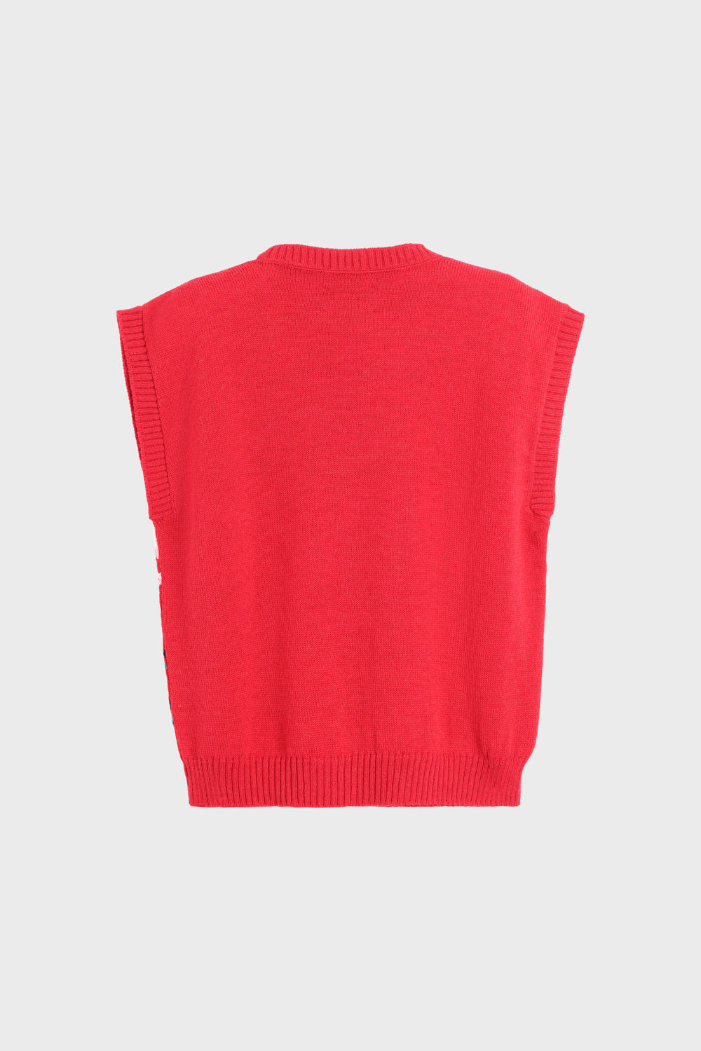 product-color-Sheep Knitted Vest