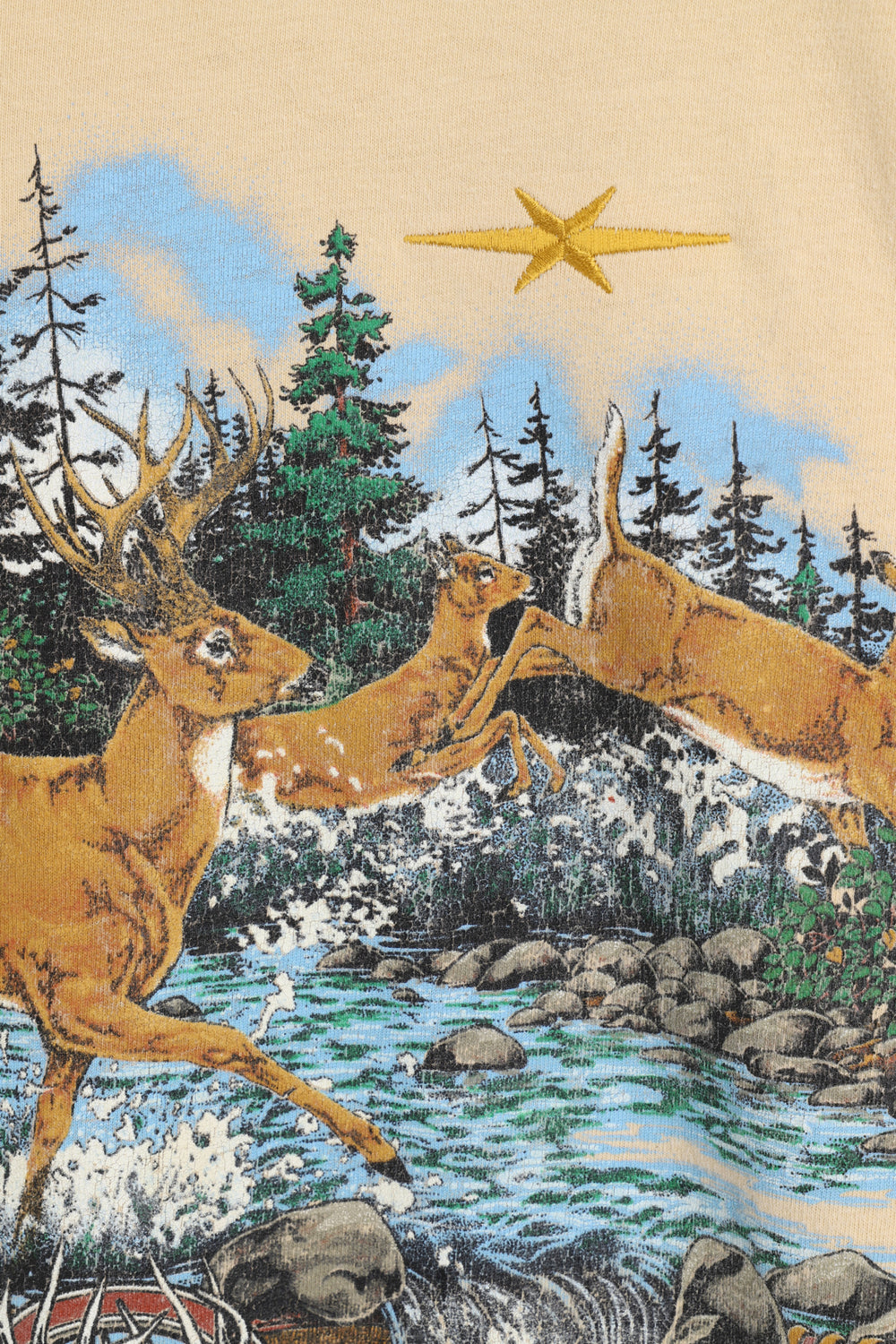 product-color-White Tail Deer T-shirt