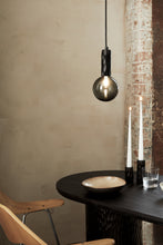 Load image into Gallery viewer, Kyoto Pendant light Black with smoked glass