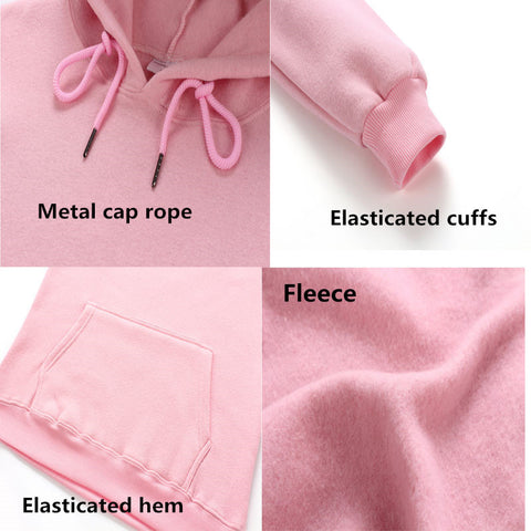 features: elasticated cuffs, fleece, elasticaed hem, and metal cap rope - the aot hoodie