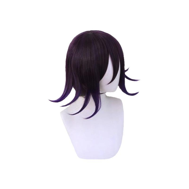 Danganronpa V3: Killing Harmony Ouma Kokichi Cosplay Purple Gradient Wig