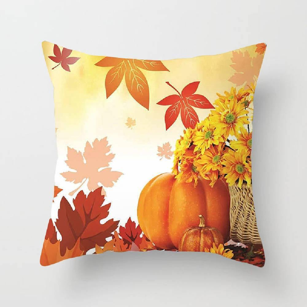 Thanksgiving 3D High Elastic PP Cotton Pillow - aonal