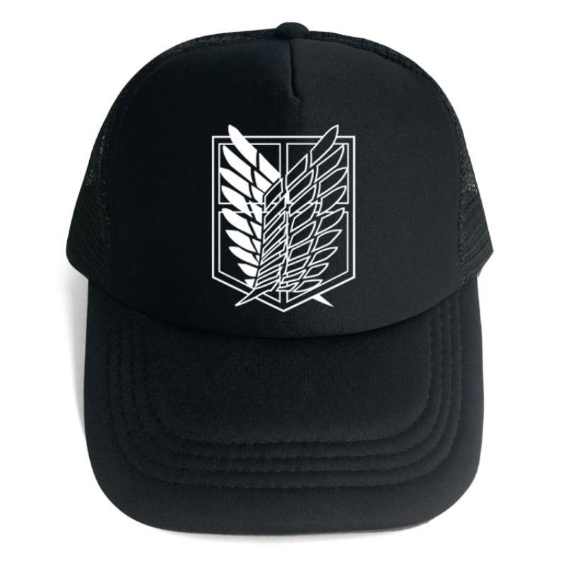Anime Attack on Titan Embroidery Casual Hat Baseball Cap - aonal