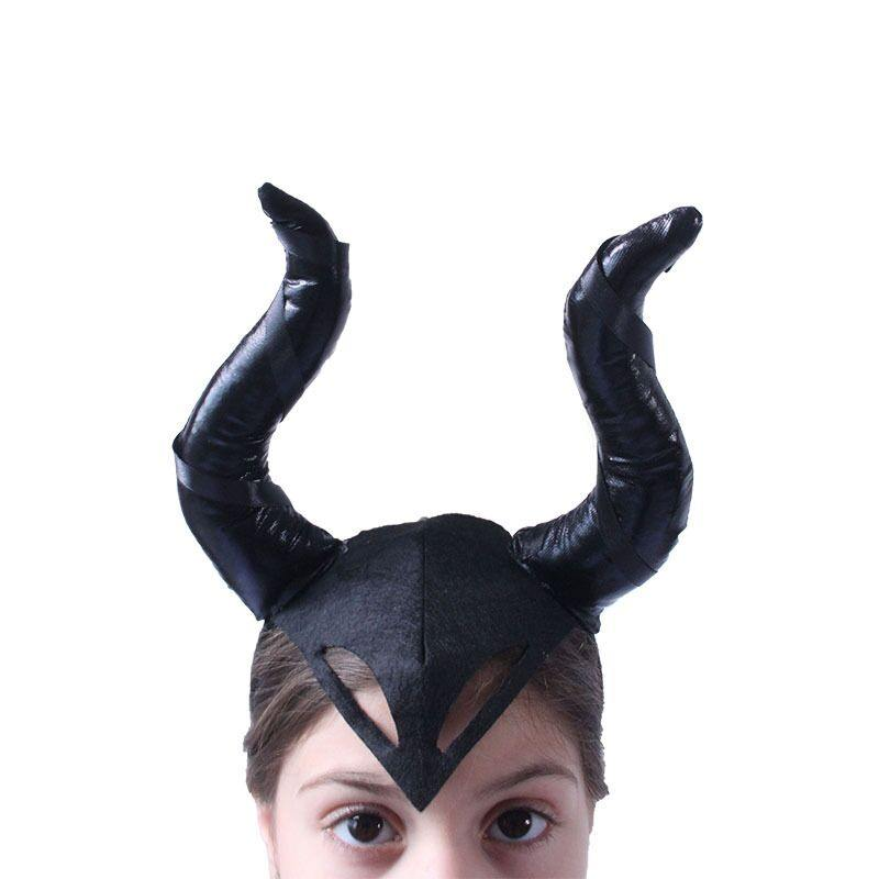 Maleficent Halloween Cosplay Costume Black Suit For Kids