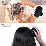 Updated Hair Shampoo Brush Scalp Massage Brush for for Wet and Dry Hair