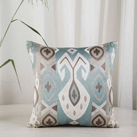 epicurious ikat cushion by studio covers