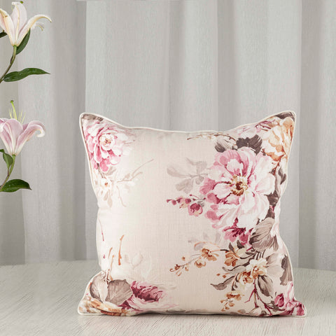 Soft Florals cushion cover by Studio Covers