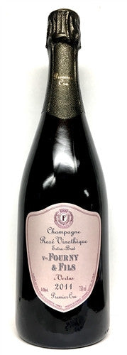 "Champagne Fourny & Fils ""Vinotheque"" Extra Brut Rose 1er Cru 2013"