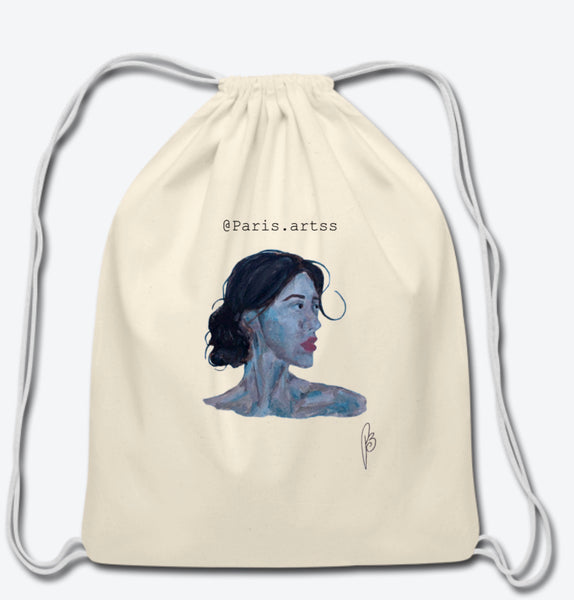 Afina-Cotton Drawstring Bag
