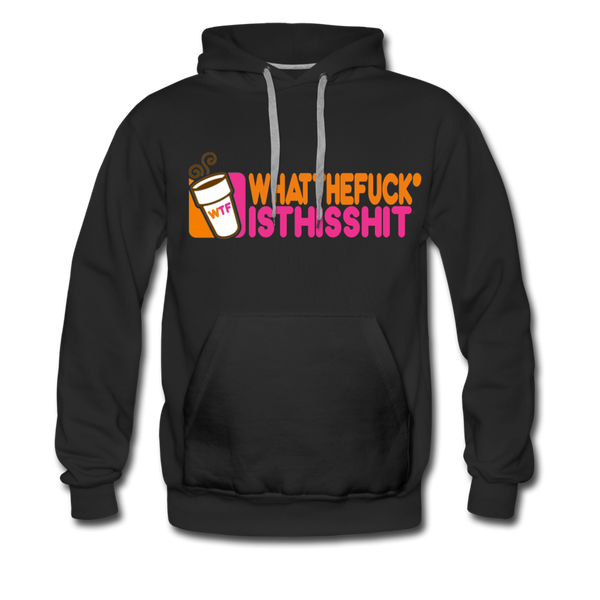 Coffee Hoodie - Mens - black