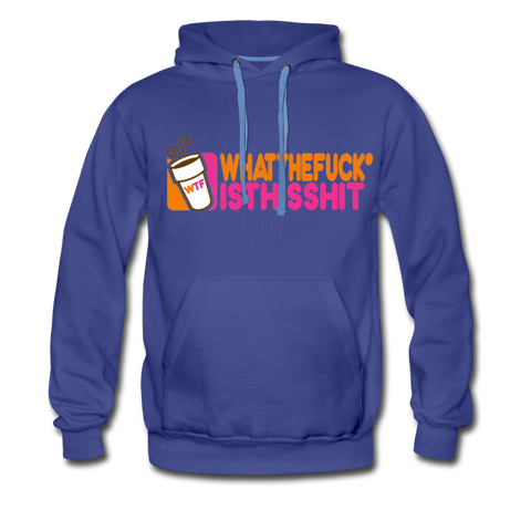 Coffee Hoodie - Mens - royalblue