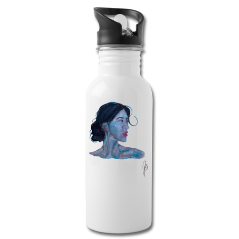 Afina-Water Bottle - white