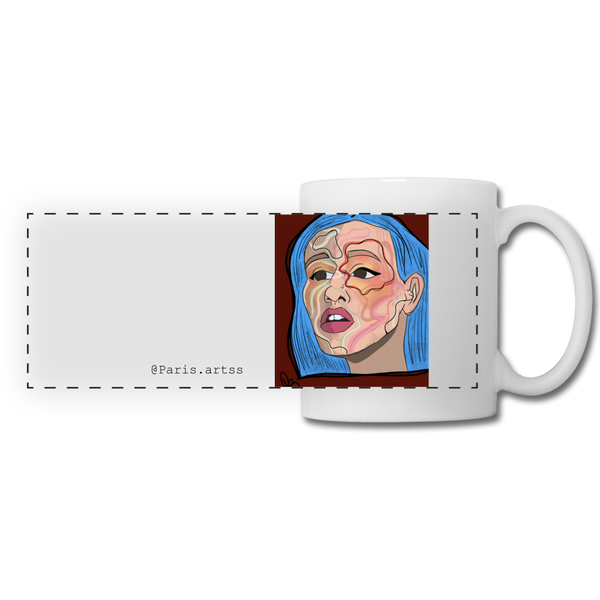 Acuarelas-Panoramic Mug - white