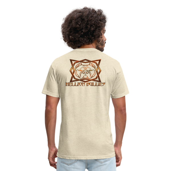 Hellion Bullies - Fitted Mens Tshirt - heather cream