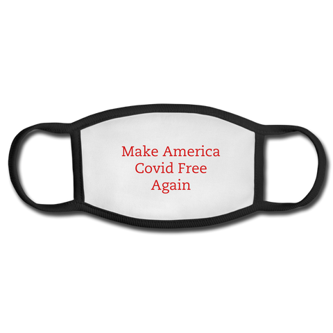 Face Mask- Make America CFA - white/black