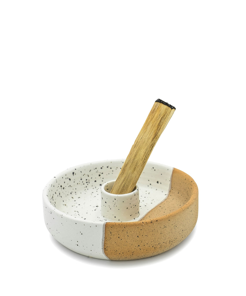 Palo Santo Holder - Terracotta