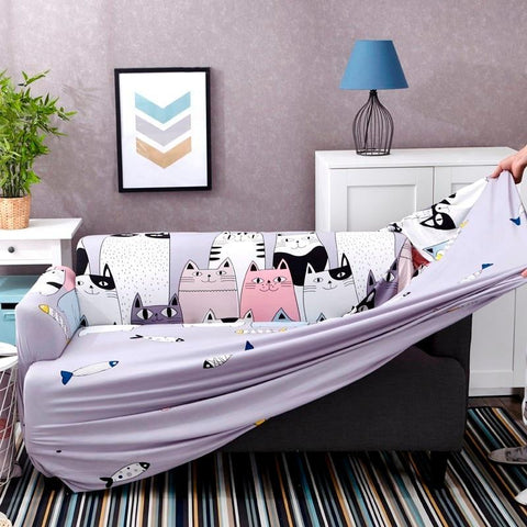 Lovely Cat Couch Cover