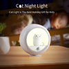 Motion Sensor Cat Lamp