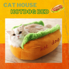 Hotdog Sandwich Cat Bed