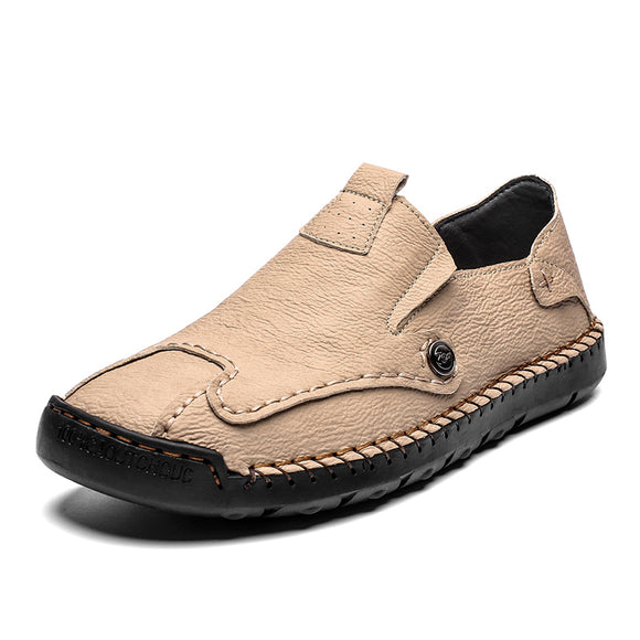 Mens Shoes Slip On Summer Shoes Business Shoes Comfortable Breathable Size 36-47,48