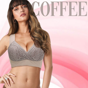 FLORY BRA - Women's Comfort Revolution Hi-tech Seamless Wireless Bra