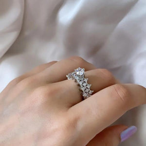 Load image into Gallery viewer, American Diamond Solitaire Rings - Zevar King