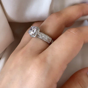 Solitaire Ring - Zevar King