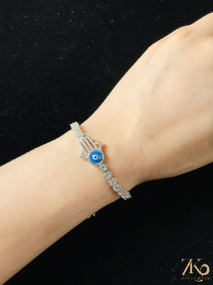 Load image into Gallery viewer, Hamsa Hand Bracelet - Zevar King