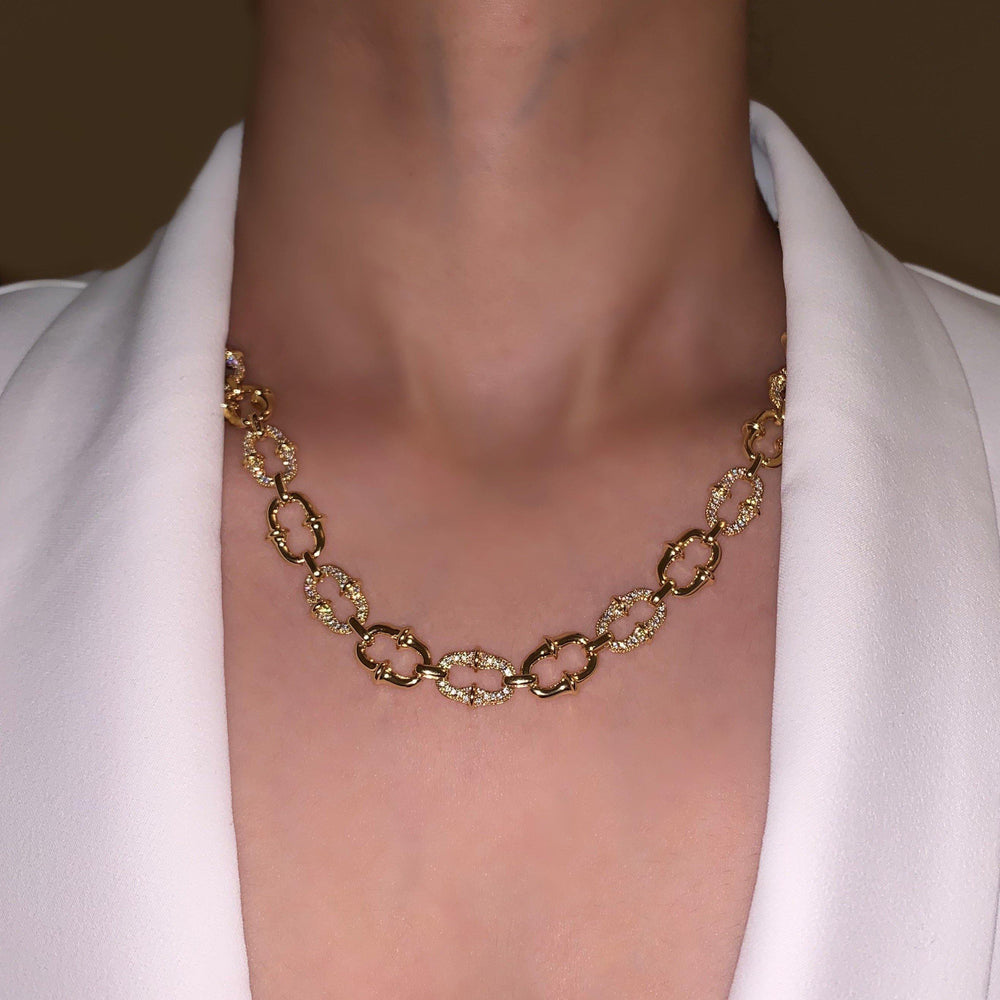 Load image into Gallery viewer, Link Chain Necklace - Zevar King