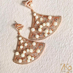 American Diamond Earring - Zevar King