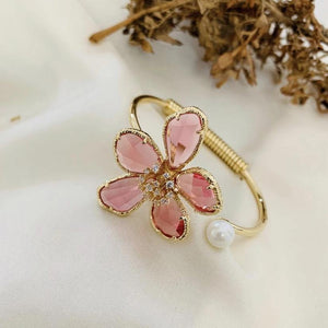 Load image into Gallery viewer, Pink Flower Bracelets - Zevar King