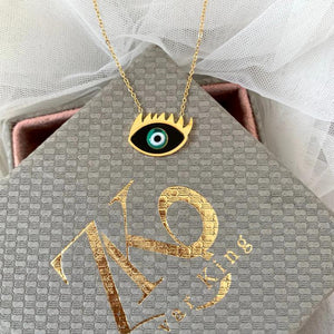Evil Eye Necklace - Zevar King