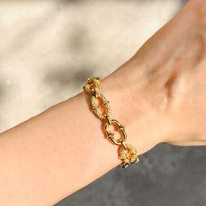 Load image into Gallery viewer, Link Chain Bracelet - Zevar King