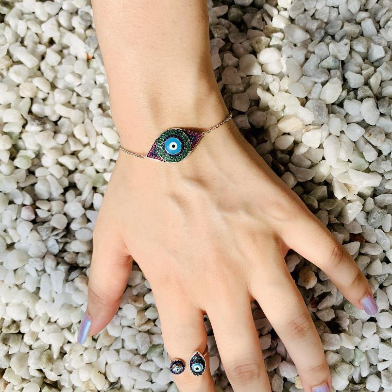 Evil Eye Ring - Zevar King