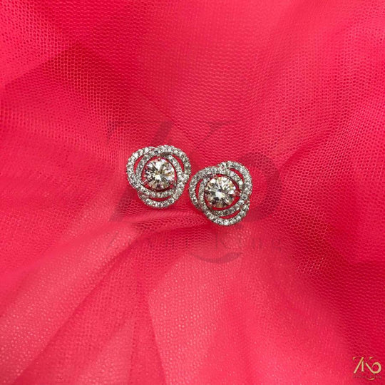 American Diamond Studs - Zevar King