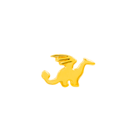 14k Yellow Gold Junipurr Dragon