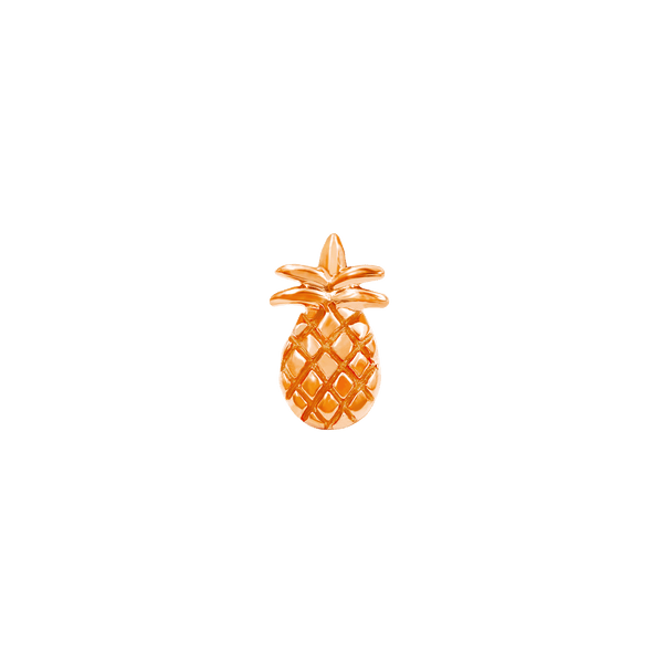 14k Rose Gold Junipurr Pineapple - Steelhybrid