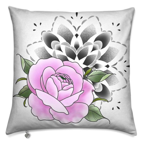 Art decorative cushion mandala & Peony flower
