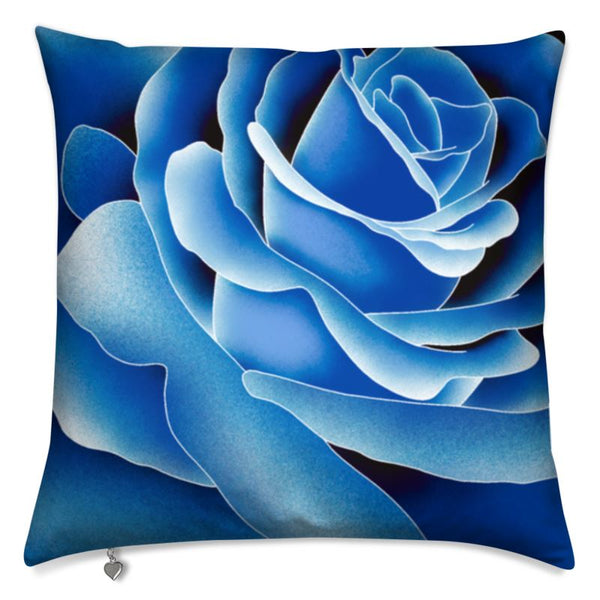 Art print cushion Big Beautiful rose