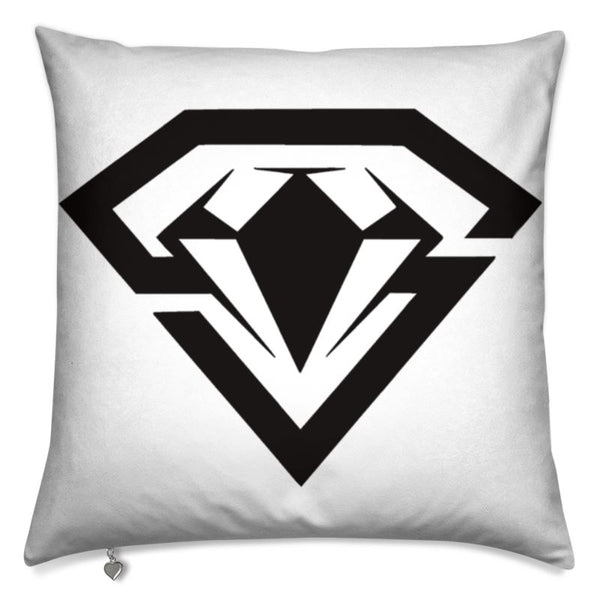 Art print cushion steelhybrid logo