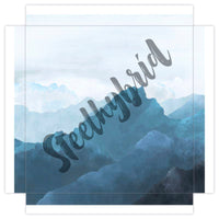 Wall art canvas landscape of Blue Mountains