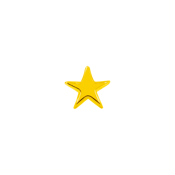 14k Yellow Gold Junipurr Star - Steelhybrid