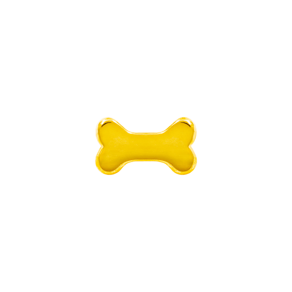 14k Yellow Gold Junipurr Dog Bone - Steelhybrid