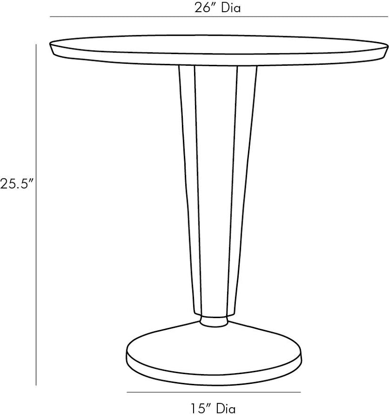 Electra Accent Table