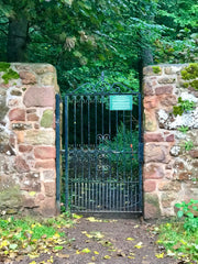 Gate to Yester Path, Park Road, Gifford