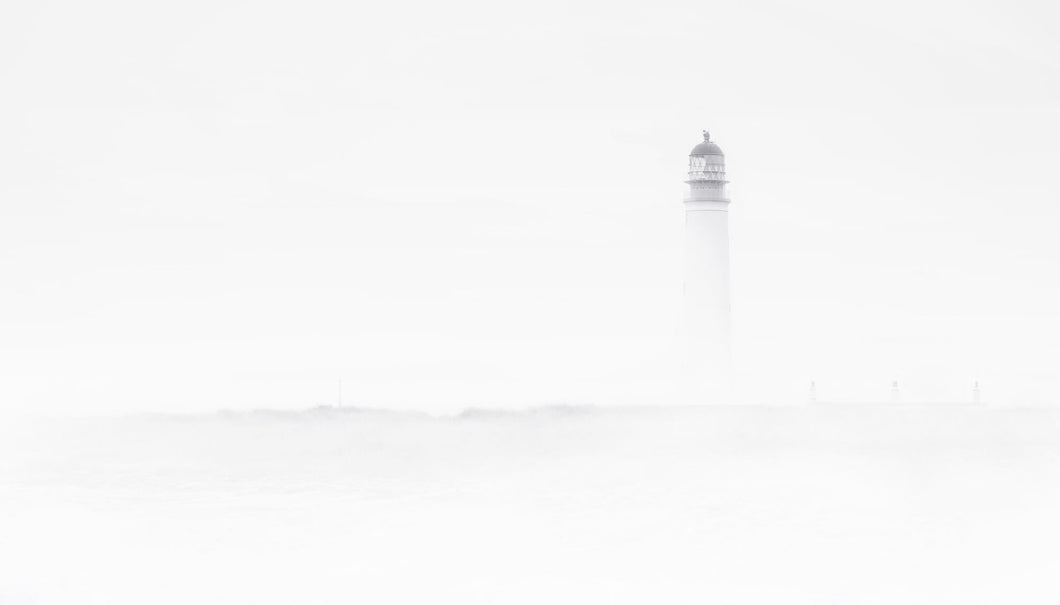 Sea Haar Lighthouse Art Print