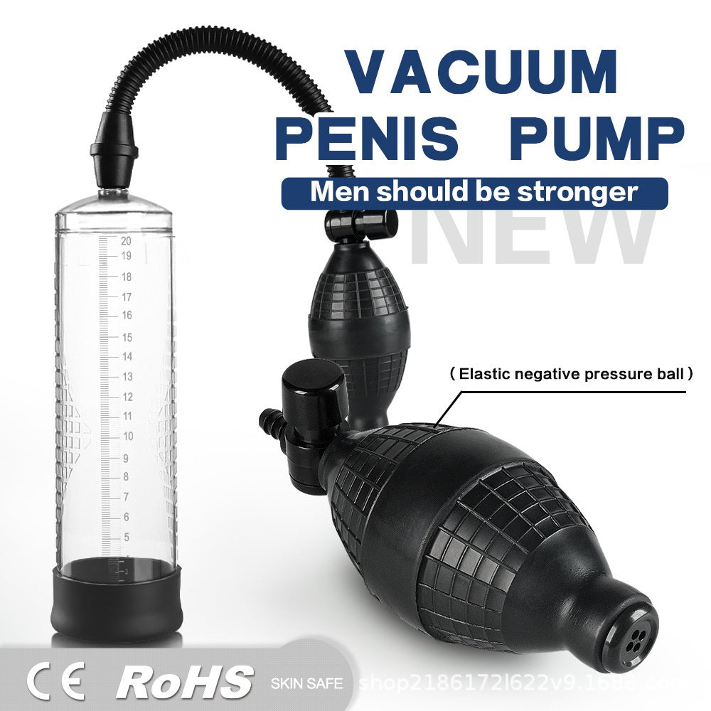 1pcs Men Training Tool Pump Thickening Growth Increase Big Dick For Men Health Care