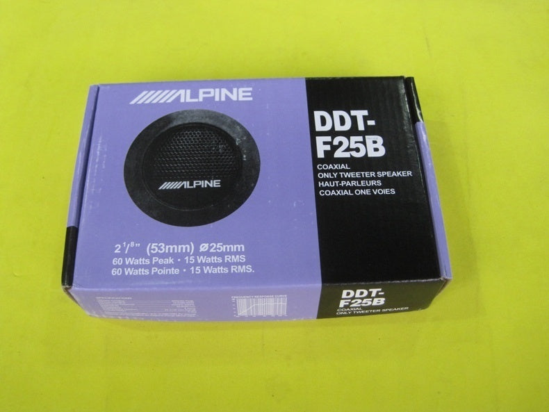ALPINE DDT-F25B Car Speaker Universal Car Tweeters High Efficiency Audio Speakers