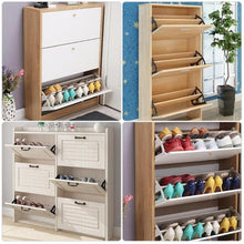 Load image into Gallery viewer, 2pcs Iron Shoe Flip Frame Rack Shelf Shoes Cabinet Hinge